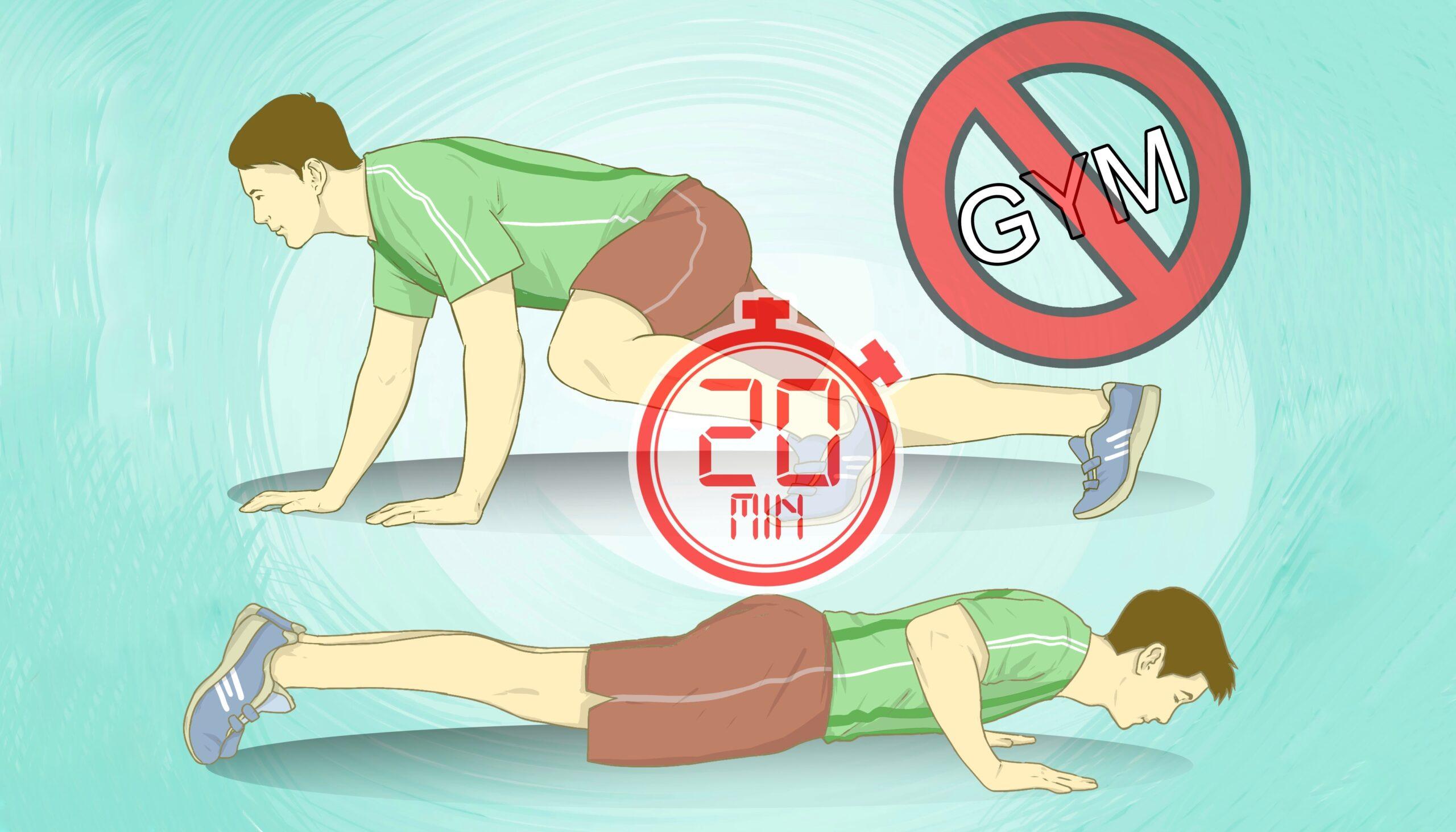 Full Body home Workout For Men